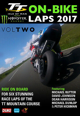 TT 2017 - ON BIKE LAPS VOLUME 2 - TT Isle of Man DVD (LATEST RELEASE)