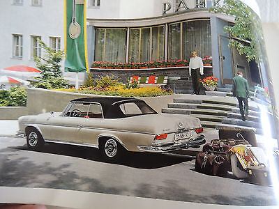 1963-67 area Mercedes Benz 300SE Cabriolet and Coupe Brochure Very Rare!