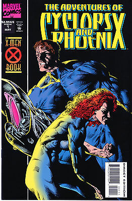 The Adventures of Cyclops and Phoenix #1 (Limited Series) Marvel Comics