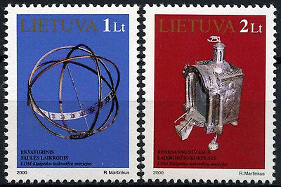 Lithuania 2000 SG#731-2 Exhibits In Museum MNH Set #D52931