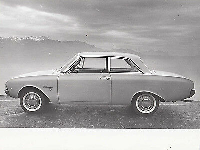Ford Taunus Two Door Saloon Period Photograph.