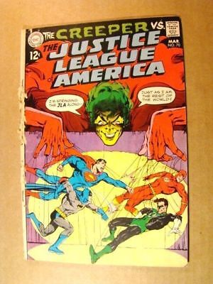 Justice League Of America 70 Vs Creeper Dc Silver Age 1969 Superhero