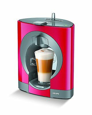 Krups Dolce Gusto Kp1105 Oblo Coffee Machine, Red