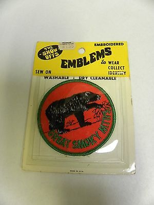 UNUSED Vintage The Showoffs Great Smokey Mountains Souvenir Patch (A2)