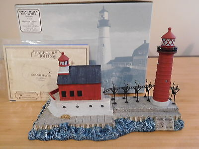 46) Harbour Lights Lighthouse - Grand Haven South Pier, Michigan #212 - NIB