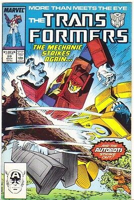 The Transformers #28 FN (1987) Marvel Comics