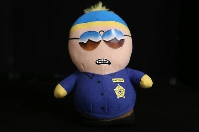 "South Park 7"" Cartman as a Policeman Plush Toy Doll 2009"