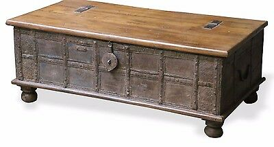 Living Room Storage Chest/Coffee table, recycled old furniture Designer Decor