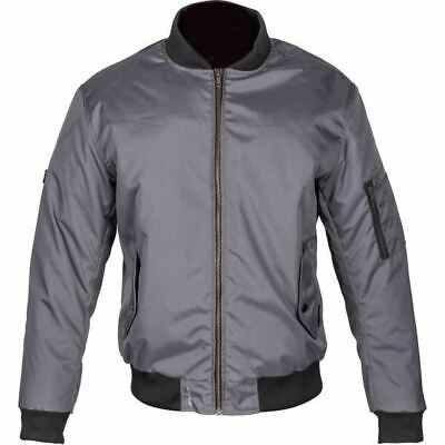 Spada Air Force One Motorcycle Jacket Bomber Motorbike Breathable