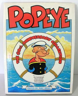 Large 1989 Popeye The 60th Anniversary Collection Book Edited By Mike Higgs DJ