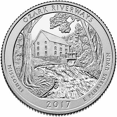 2017 S Mint Ozark National Scenic River ways Nt. Park (MO) **IN HAND*