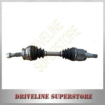 A FRONT CV JOINT DRIVE SHAFT FOR NISSAN NAVARA D40 4x4 All Year 2005-2015