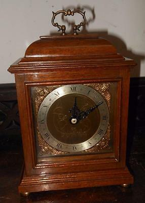 walnut cased elliot mantel clock