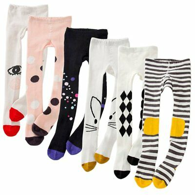 1-9 Y Kids Girls Cotton Warm Pantyhose Socks Stockings Tights Collants Leggings