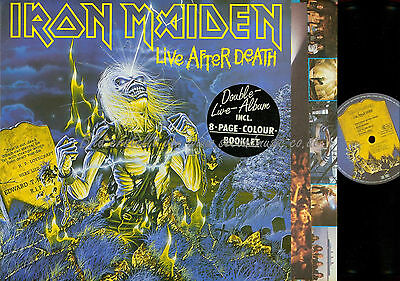Dlp--Iron Maiden Live After Death // Booklet // Ois // 2404263