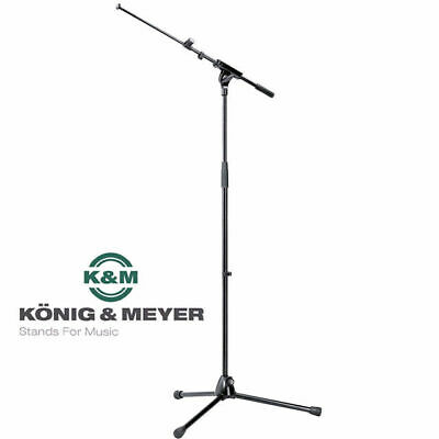 K & M 210/8  Telescopic Boom Microphone Stand Professional Made in Germany Köni