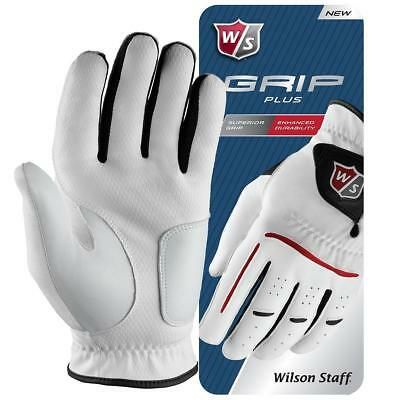 Wilson Staff Grip Plus Golf Glove Mens (Left Hand Small)