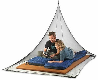 360 Degrees Insect Net - Two Person - Black Mesh 2.4m x 1.7m x 1.3m Mosquito Net