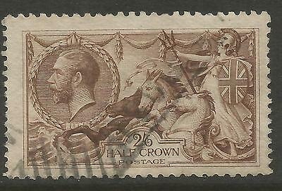 GREAT BRITAIN 1918 2/6 Chocolate-Brown (Bradbury)  S.G 414, USED (o)