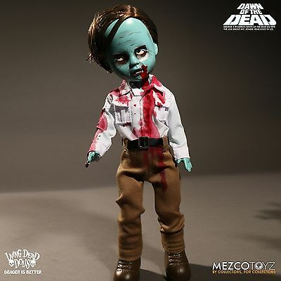 Living Dead Dolls Dawn of The Dead Flyboy Zombie Mezco