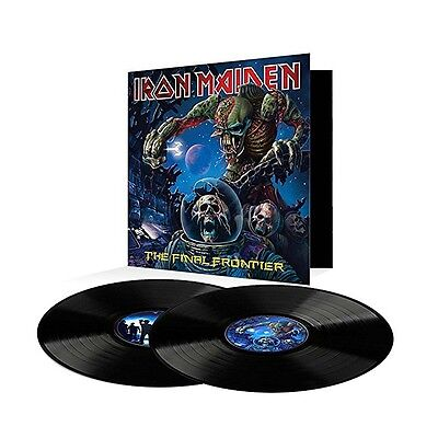 Iron Maiden - The Final Frontier (180g 2LP Vinyl, Gatefold) 2017 Parlophone