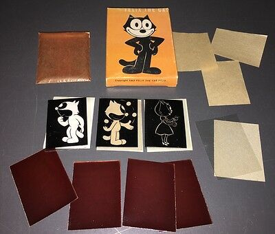 "1962 Felix The Cat ""sun Pictures"" / Play Set That Makes Trading Cards - Mint!"