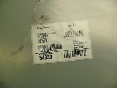 """Hoffman A14128CH Steel Hinged Cover Screw Clamp   sealed 14x12x8"""" 54930"""