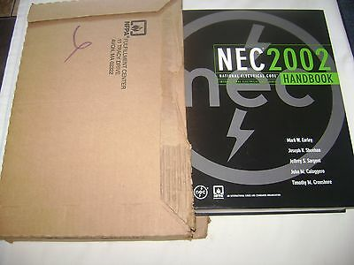 2002 National Electrical Code Handbook ~ National Fire Protection ~ New