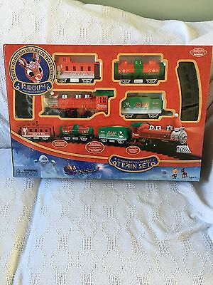 Rudolph 50th Anniversary O Gauge Battery Train Set