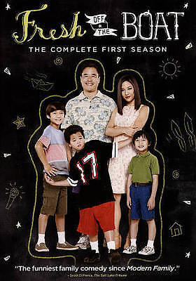 Fresh off the Boat - The Complete First Season 1 (DVD, 2015, 2-Disc Set) TV