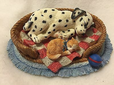 1997 Spot Taakes A Nap, Seeing Spots, Hamilton Collection with COA