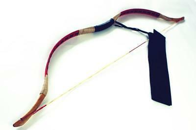Archery Chinese Handmade Pigskin Mini Bow Kids Bow Recurve Bow 10-40lb For Child