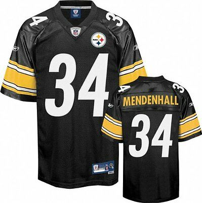 NFL Football Premier Trikot Jersey PITTSBURGH STEELERS Mendenhall 34 black