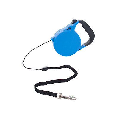RETRATTILE 8M 35KG COLLARE PER CANE ALLUNGABILE Pet Guinzaglio Training - BLU