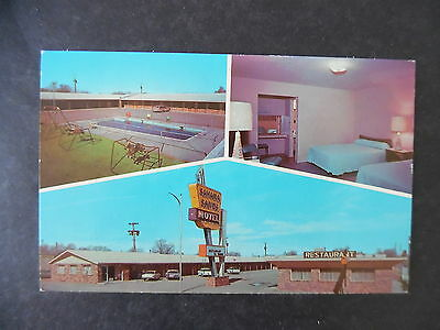 1960s Tucumcari New Mexico Sahara Sands Motel Route 66 Postcard