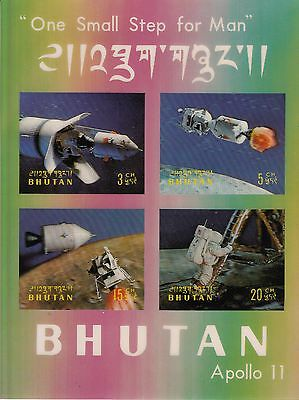 Bhutan Nr. Block 32** Apollo 11