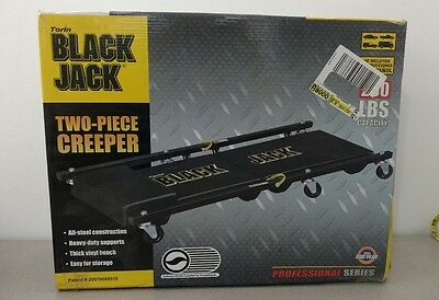 NEW Torin Black Jack two piece Creeper Mechanic Vehicle Repair