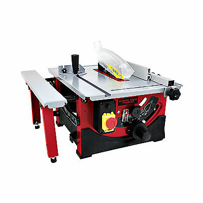 "D Pro Tools Brand New Table Saw 8"" Blade With Sliding Side Extension 240v"