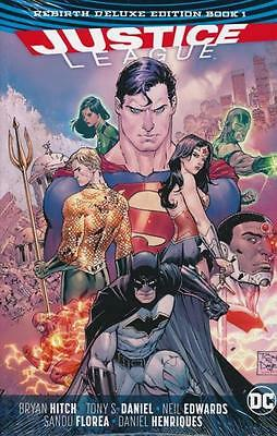 Justice League Rebirth Deluxe Hardcover Book 1 Graphic Novel