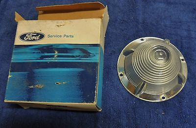 1955 Ford Car Nos Park Light Lens, In Original Box.