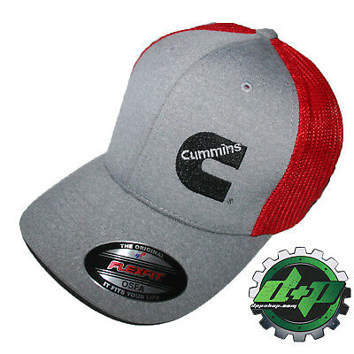 Cummins hat ball cap fitted flex fit flexfit stretch cummings dodge diesel OSFA