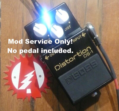 Boss DS-1 Distortion 40th Anniversary Mod Service Only (No Pedal) Alchemy Audio.