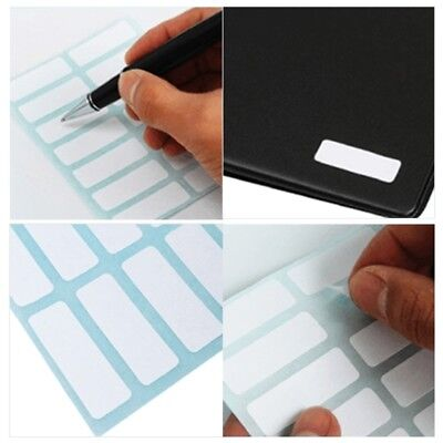 5/10/20 Self Adhesive Sticky White Label Blank Post It Stickers Note Tags Craft