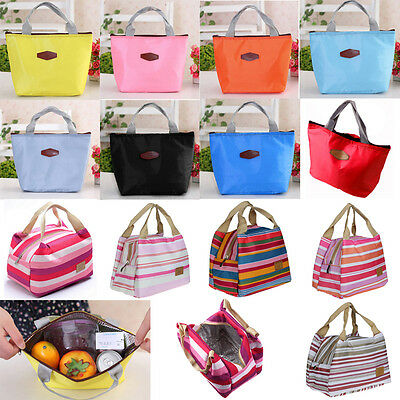 d3a2f52896 Picnic Insulated Food Storage Zipper Box Tote Bento Pouch Lunch Bag Make Up  Bag