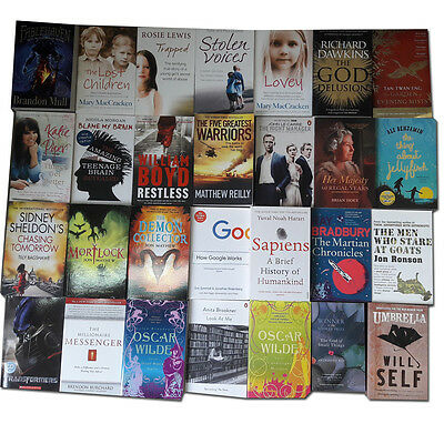 Joblots Wholesale of 28 Books Set Literary Fiction Stories Collection Pack