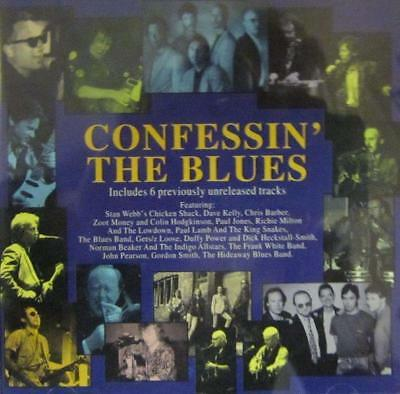 Various Blues(CD Album)Confessin' The Blues-Indigo-IGOCD2020-UK-1995-New