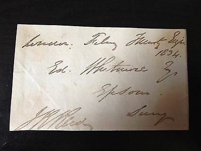 John Rae Reid - Merchant Mp & Governor Bank Of England - Signed Envelope Front