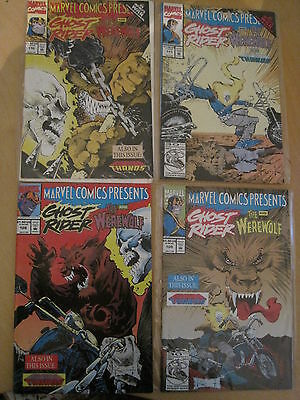 THANOS : COMPLETE, OVER LOOKED 4 ISSUE STORY in MARVEL COMICS PRESENTS 108-111