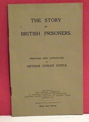 The Story of British Prisoners-Prefaced/Annotated by Arthur Conan Doyle-1915