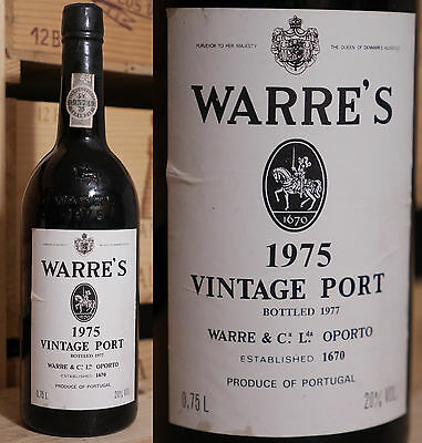 1975er Warre's - Vintage Port - Top Rarität !!!!!!!